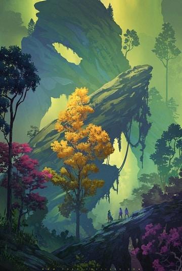 imagenes para pintar en lienzo paisajes