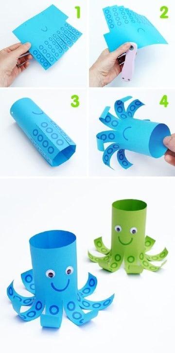 manualidades para niños de kinder paso a paso