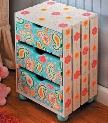 cajas de fruta decoradas paso a paso