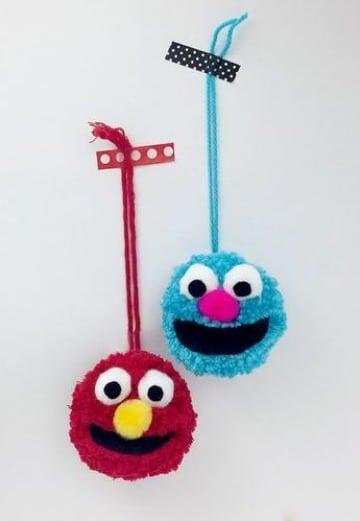 como hacer manualidades con lana para niños