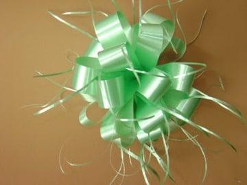 flores de cinta de agua para regalos