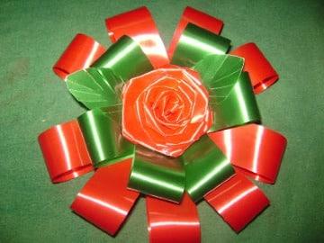 flores de cinta de agua sencilla