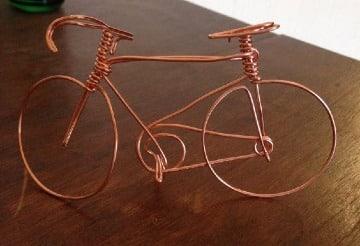 imagenes de manualidades con alambre de cobre