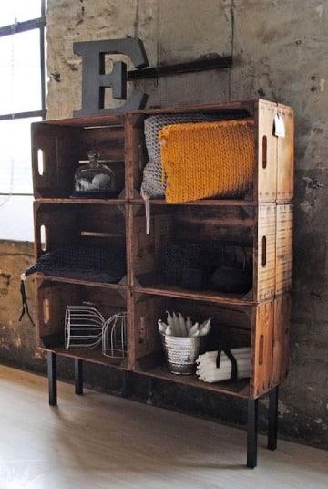 imagenes de muebles con cajones de madera