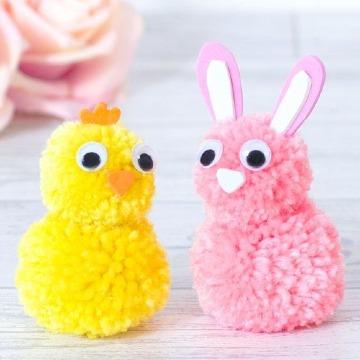 manualidades con lana para niños y niñas