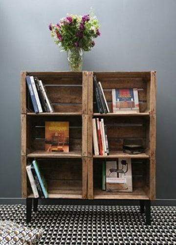 muebles con cajones de madera para el hogar