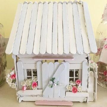 casas de palitos de madera faciles de hacer