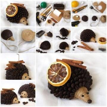 como hacer manualidades con granos de cafe