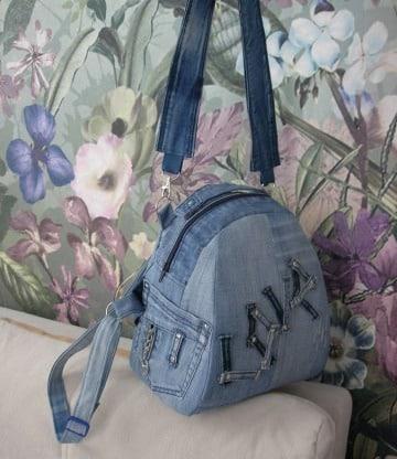diy de bolsos de jean reciclados