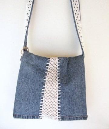 carteras de jeans reciclados faciles de hacer