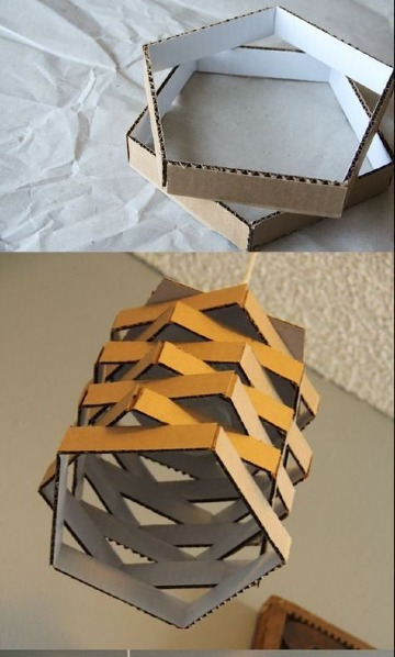 diy manualidades de carton reciclado