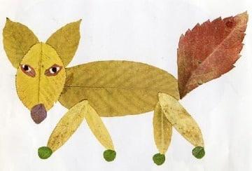 imagenes de dibujos con hojas secas