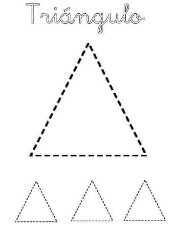 sencillas figuras geometricas para recortar