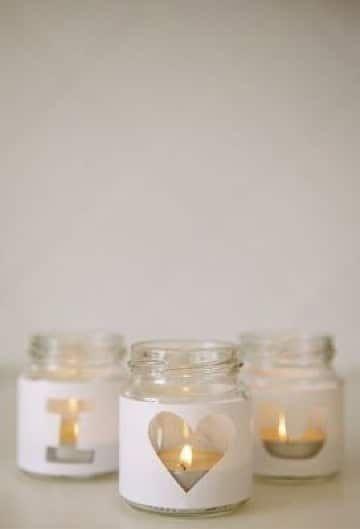 manualidades con frascos de gerber para bautizo