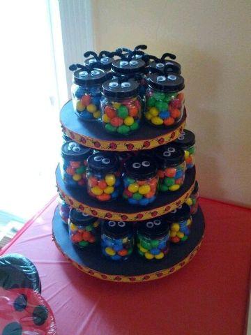 manualidades con frascos de gerber para cumpleaños