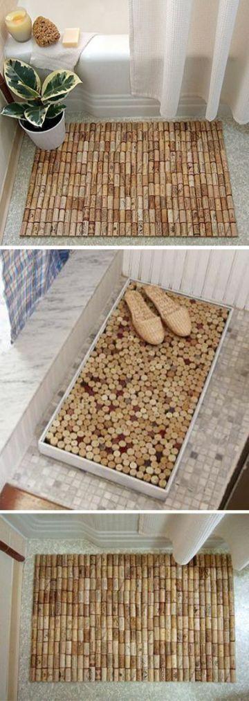 manualidades con tapones de corcho para la casa