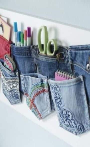 manualidades con tela reciclada para el hogar