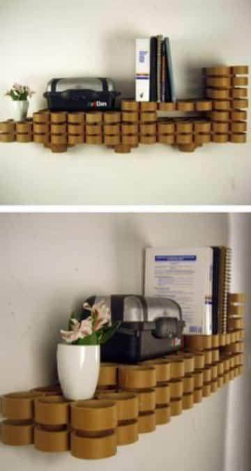 manualidades con tubos de carton papel higienico