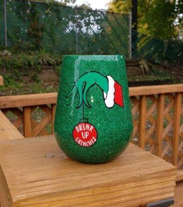 tazas decoradas para navidad clasicas
