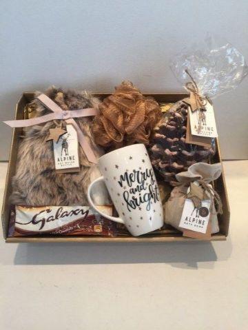 cajas de regalos navideñas autenticas