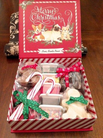 cajas de regalos navideñas diferentes