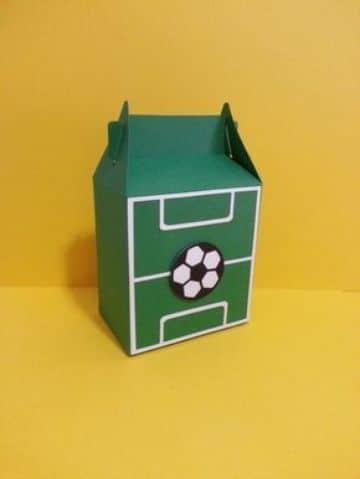cotillon de futbol para niño caja