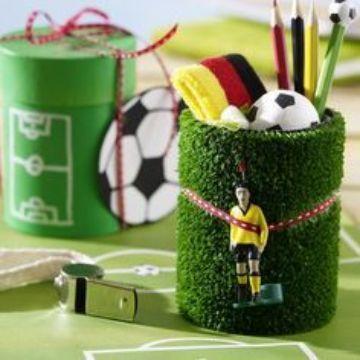 cotillon de futbol para niño utiles
