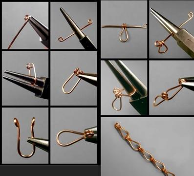 ejemplos de manualidades con alambre de cobre