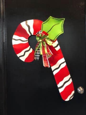 puertas forradas navidad con tela