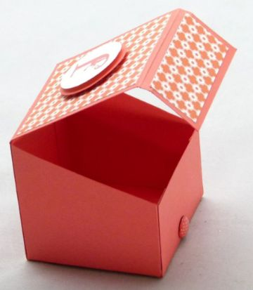 cajas hechas con cartulina para chicas