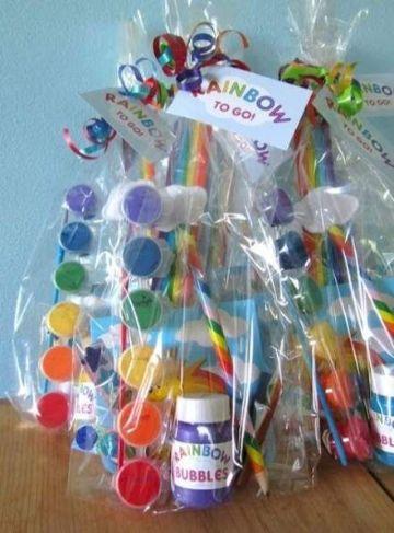 cotillon para fiestas infantiles con colores