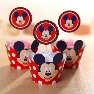 cotillones de mickey mouse con dulces
