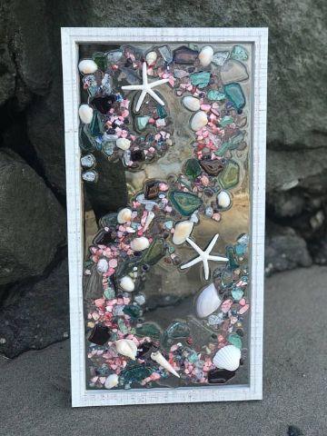cuadros con estrellas de mar decorativos