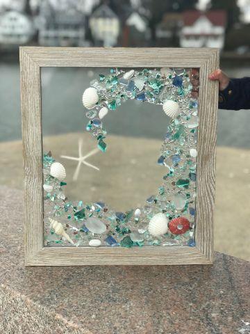 cuadros con estrellas de mar sencillos