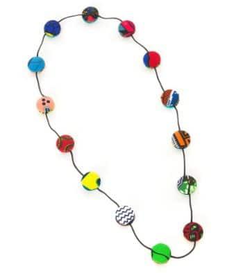 manualidades con botones de colores para bisuteria