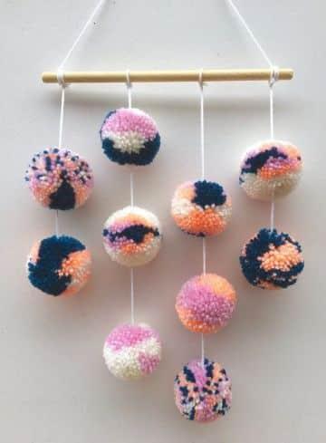 manualidades para hacer con lana para decorar