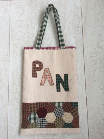 bolsas de tocuyo para pan hechas a mano