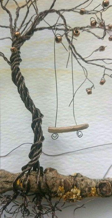 figuras con alambre de cobre para hacer