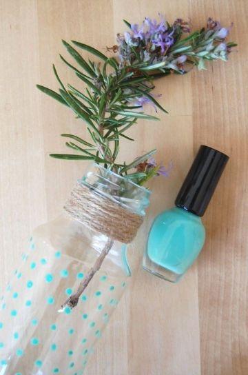 manualidades con esmalte de uñas paso a paso
