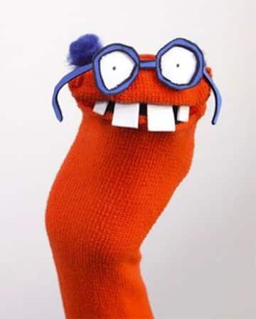 manualidades hechas con calcetines sencillos