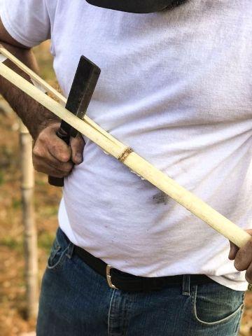 artesanias en caña de bambu paso paso