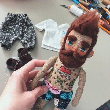 como hacer muñecos de telas para niños
