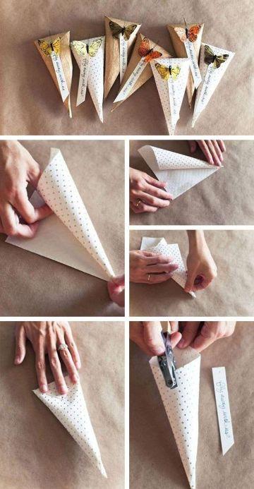 empaques para dulces artesanales con cartulina