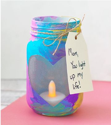 regalos para mama caseros hechos con frascos de mermelada