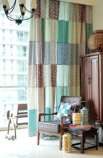 ideas para manualidades en telas para el hogar
