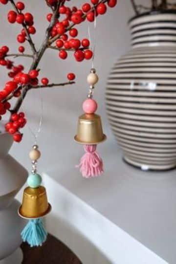 manualidades con capsulas de cafe para decorar