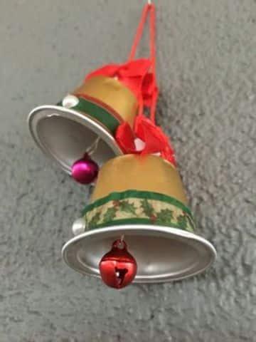 manualidades con capsulas de cafe para navidad