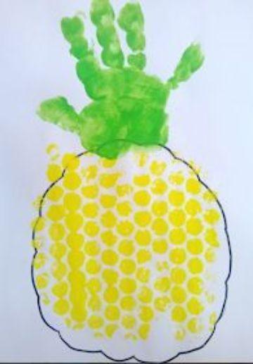ideas para manualidades con pintura para niñosideas para manualidades con pintura para niños