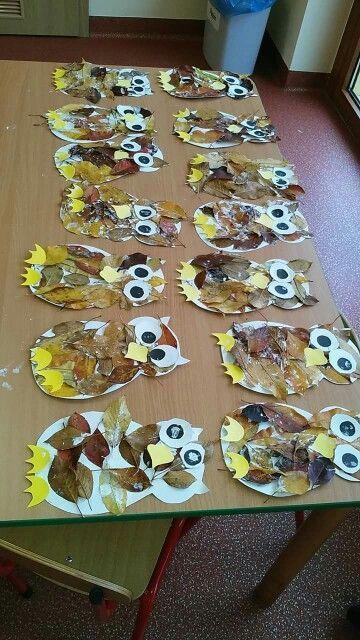 manualidades de otoño para niños de jardin