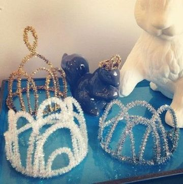 manualidades para cumpleaños de frozen tiaras